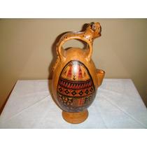 Botijo Mexicano Para Beber Agua - Pieza Antigua Muy Original