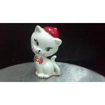 Figura Ceramica Gatita