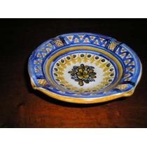 1089- Cenicero Ceramica Talavera De La Reina 14 Cm