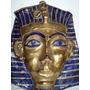 Bella Mascara Tutankamon Ceramica Artesanal Y Laminado Oro