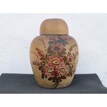 Historical*- Muy Antiguo Potiche Urna Oriental De Gres-envío