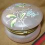 Pastillero Alhajero Porcelana Decoracion Flores - No Envío
