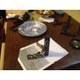 Antiguo Apoya Platos 24 En Plastico Negro