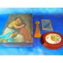 El Arcon Lote Caja De Madera + Artículos Varios 12063