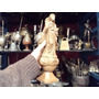 Antigua Imagen En Madera Virgen Maria Inmaculada Colonial