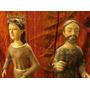 Imágenes De Virgen María Y San José Tallados En Madera