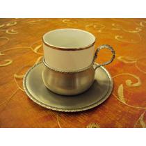 Duo De Café Antiguo - Zinn Etain Pewter - Peltre 95 %