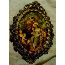 1 Un Antiguo Camafeo Acolchado-de Abuela-imagenes Seda-