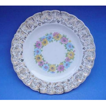 Plato Decorativo Antiguo De Porcelana ¨sebrin¨ Origen Usa