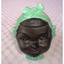 Monijor62- Alhajero De Porcelana Alemana Cara De Negrita