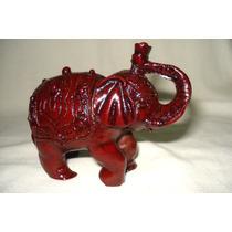 Elefante Asiático Realizado En Poliresina