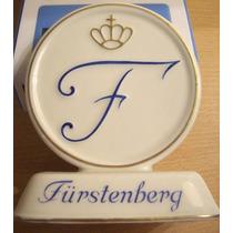 Antigua Publicidad En Porcelana Furstenberg Alemania