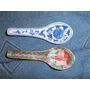 Cucharas Chinas De Pared En Porcelana