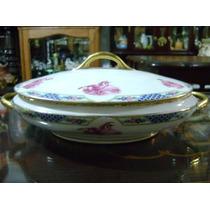 Antigua Guisera Francesa De Porcelana Limoges