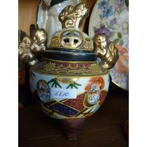 Fantastica Sahumador Porcelana Oriental Satsuma !!!miralo!!!