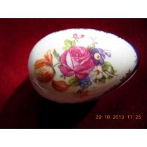 Antiguo Pastillero De Porcelana Alemana Sellado Y Numerado