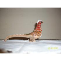 Inospeli Figura De Pajaros.ave. Faisan Ceramica (caja4)