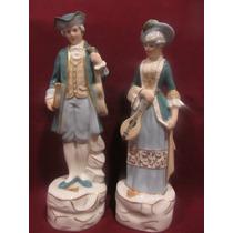 El Arcon Par De Figuras De Porcelana Royal Dux Los Musicos