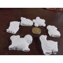6 Figuras De Yeso / Escayola Para Pintar /decorar ,souvenir
