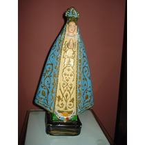 Antigua Figura Virgen Maria