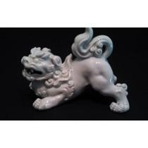 Antiguo Blanc De Chine Original Perro De Fo