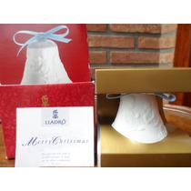 Bella Campana De Navidad Lladró En Su Caja Original.