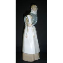 Hermosa Figura Porcelana Lladro Sellada (01111)