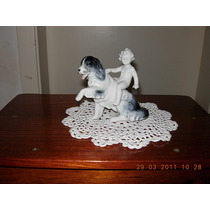 Hermosa Figura De Porcelana Fasold & Stauch Superior Calidad