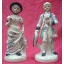 Par Figuras Porcelana La Dama Y El Caballero (873)