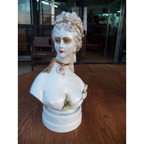 Porcelana Alemana Meissen Dama Antigua Firmada Y Sellada