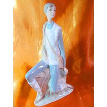 El Arcon Figura Porcelana Nao By Lladro El Nuevo Pastor