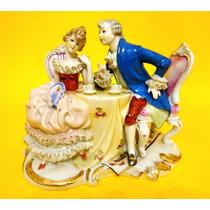 Figura Porcelana Capodimonte Sellada Art 224