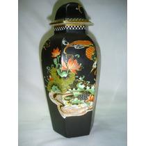 Jarron Potiche Oriental Porcelana Fenix Ware (0473)