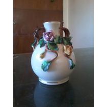 Florero Porcelana Antiguo