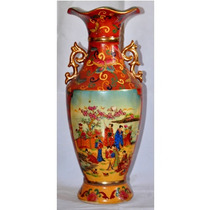 Jarron Florero Porcelana China 45cm-cap Fed Envio Gratis !!