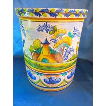 El Arcon Jarron Ceramica Talavera De La Reina Fdo 36 Cm Alto