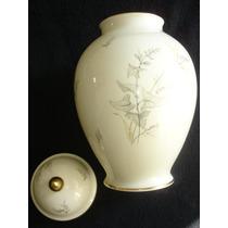 Tarro De Galletas Porcelana Alemana Bavaria Al-ka ( Potiche)