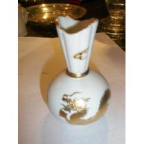 Antiguo Violetero De Porcelana Japonesa Decada Del 50