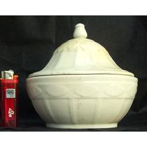 Antiguo Potich Con Tapa Porcelana Meissen Sellado.