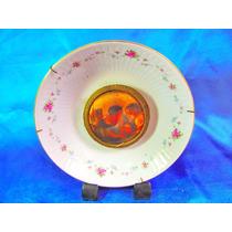 El Arcon Plato De Porcelana Tsuji Montura Metalica 24118