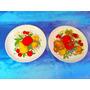El Arcon Par De Platos Ceramica Hartford Argentina 20c 26105