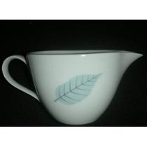 Vintage Jarrita Porcelana Verbano Con Hojas 5,5cm H