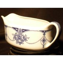 Salsera Porcelana Inglesa Sellada