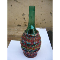 Antigua Botella Adornada