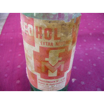 Antiguo Frasco Alcohol 250cm3