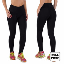 Calza Leggins Chupin De Supplex Negro Intenso Varios Talles