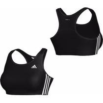 Top Gimnasia Adidas Climalite Negro Mujer Adulto Talle M 42