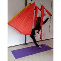 Columpio De Aero Yoga Aero Pilates Acrobacia 2 Años Garantia