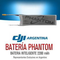Bateria Extra Duracion Cuadricoptero Dji Phantom Original