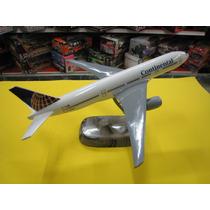 Continental Avion En Resina Maqueta Estatica